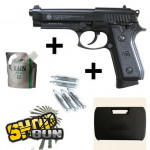 Pack Taurus PT99 CO2 Full Metal BLOW BACK - Full kit