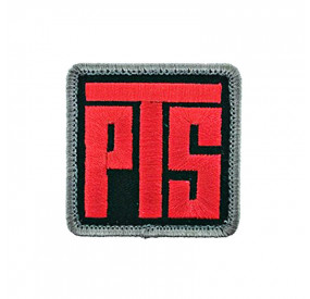 MAGPUL PTS logo patch red black