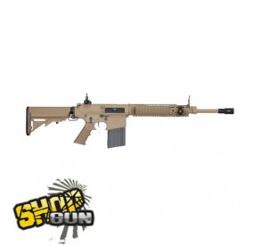 SR 25 CARBINE ARES AEG METAL TAN