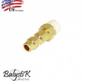 BALYSTIK COUPLEUR MALE AVEC ENTREE 1/8 NPT MALE VERSION US