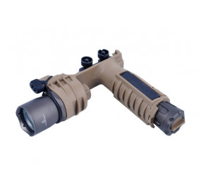 M910A VERTICAL FOREGRIP WEAPONLIGHT(WITH SF LETTERING) - TAN