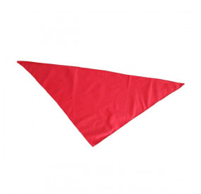 """Foulard rouge """"OUT"""""""
