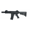 Colt M4 Nylon fibre Garde main métal Special Forces Shorty Black