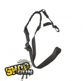 Sangle 1 point Bungee Noire