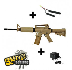 M4 Blowback Sportline Carbine APS TAN