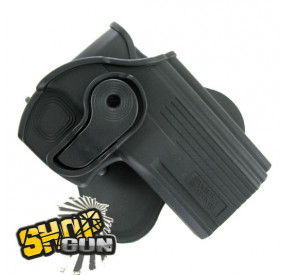 Holster rotation 360° paddle Taurus PT24/7 droitier