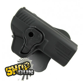 Holster rotation 360° paddle M&P40/M&P9 droitier