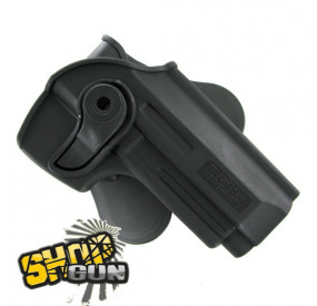 Holster rotation 360° paddle M9-A1/PT92/M92 droitier