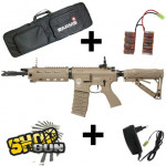 Pack G&G GR4 G26 RAIDER TAN Blowback Edition limitée